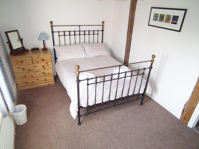 Character bedroom with double and single beds