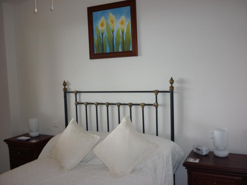 Master bedroom with wardrobe, bedside cabinets and en suite.