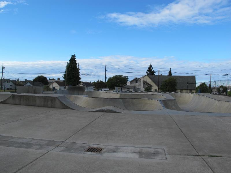 There is a skateboard park near by as well.