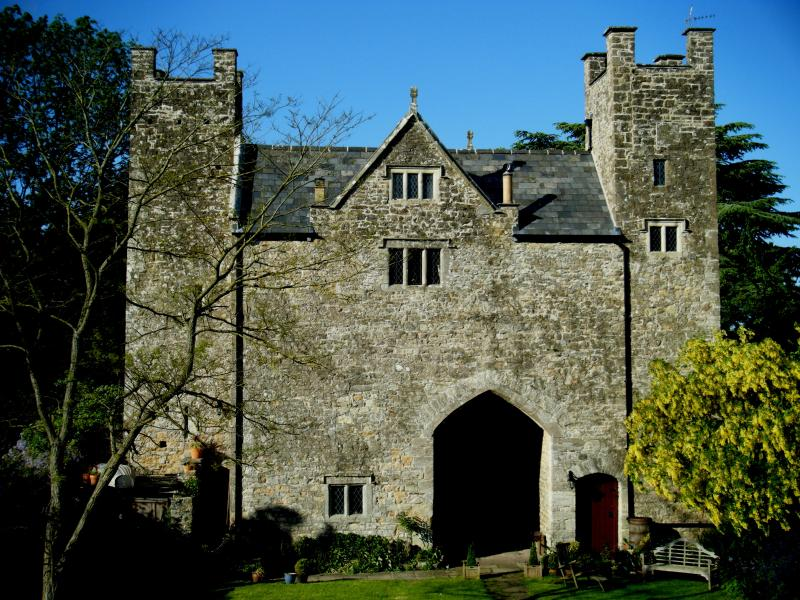 The Gatehouse from Inside the Courtyard