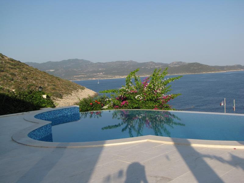 enjoy the breathtaking view while you're in your private pool