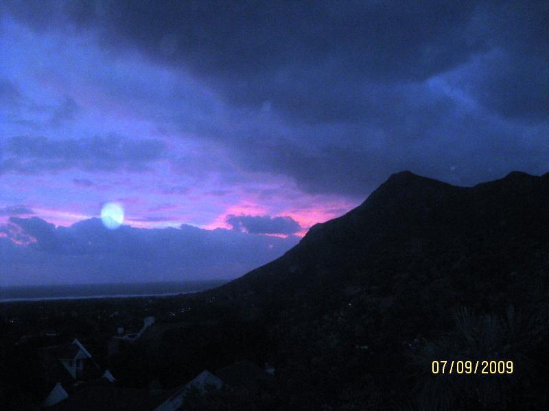 Evening sky from balcony