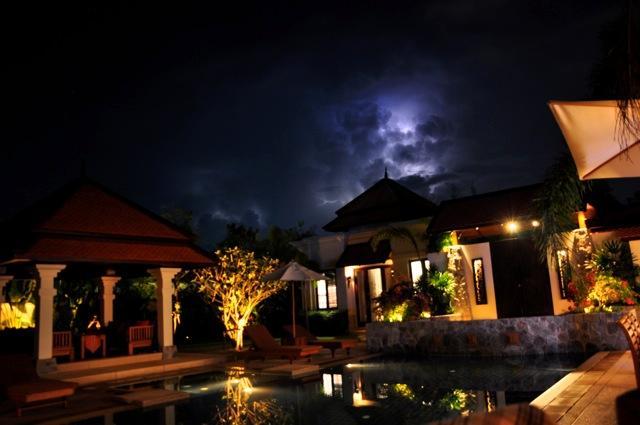 Beautifully lit Gardens