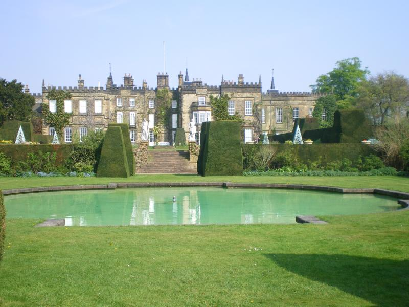 Renishaw Hall and Gardens, the home of the Sitwell family