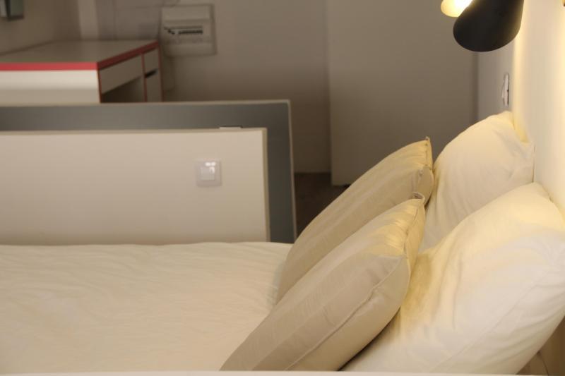 Soft duvet and pillows