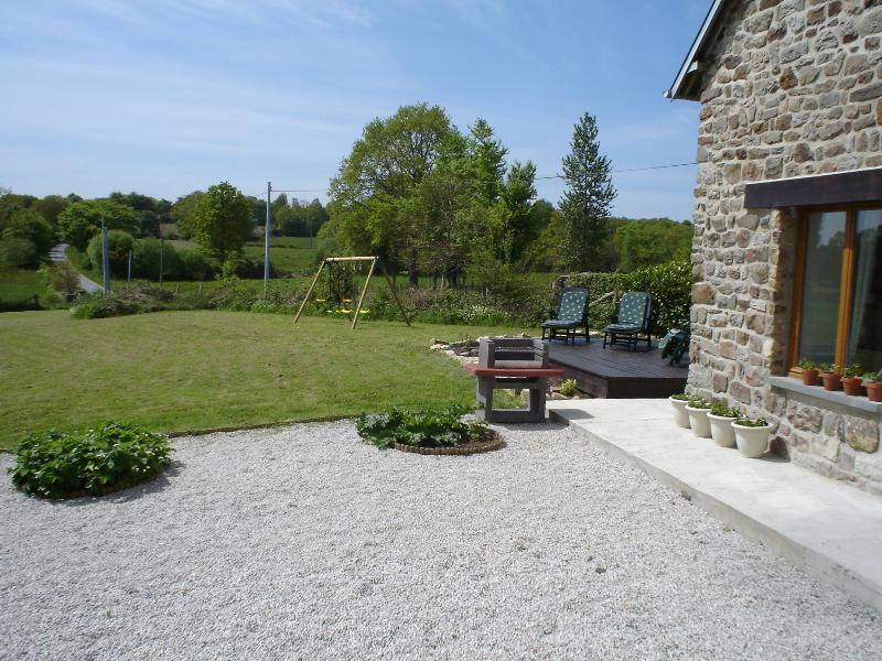 BBQ, Terrace and Children's play area