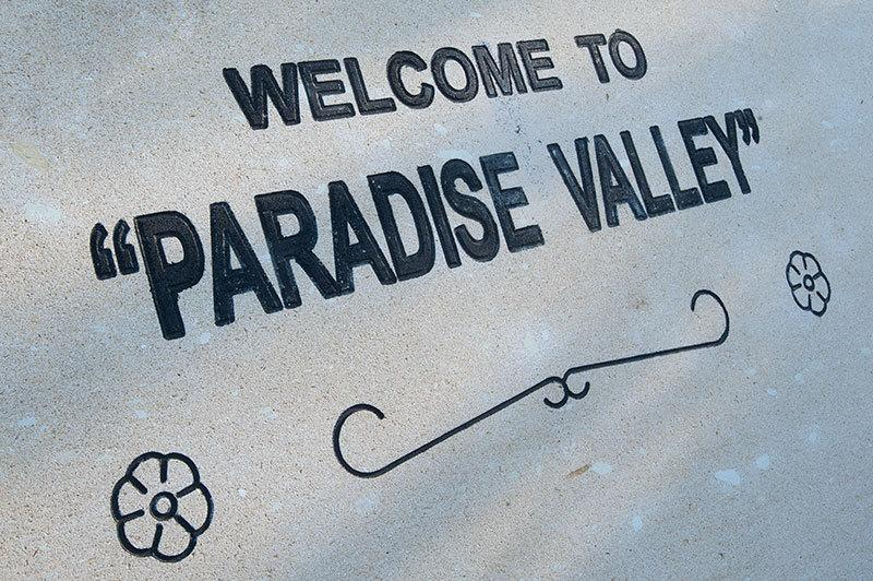 Welcome to Paradise Valley