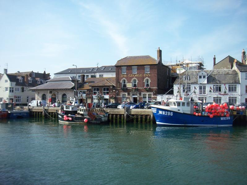 Weymouth Harbour, 400m from Rosehill