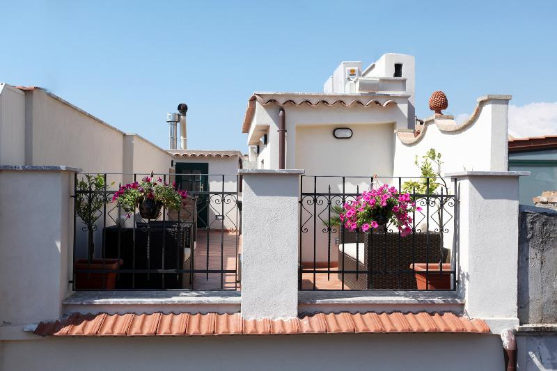 Spacious and private roof terrace