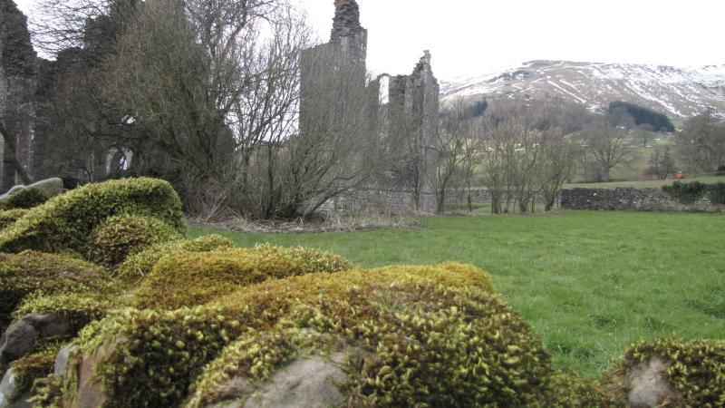 Nearby Llantoney Abbey