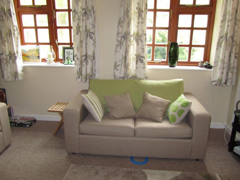 The light bright sitting room