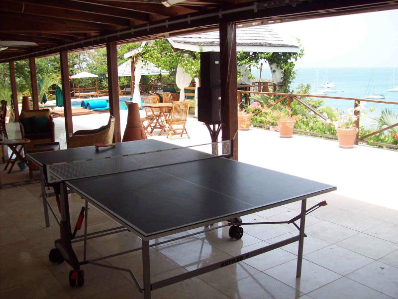 Who's for table tennis?