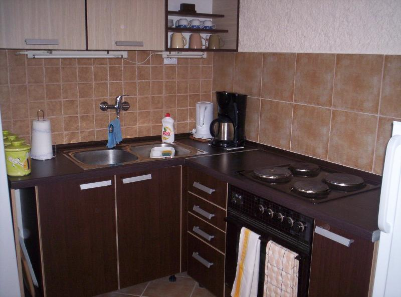 Fully equiped kitchen for self-catering holiday