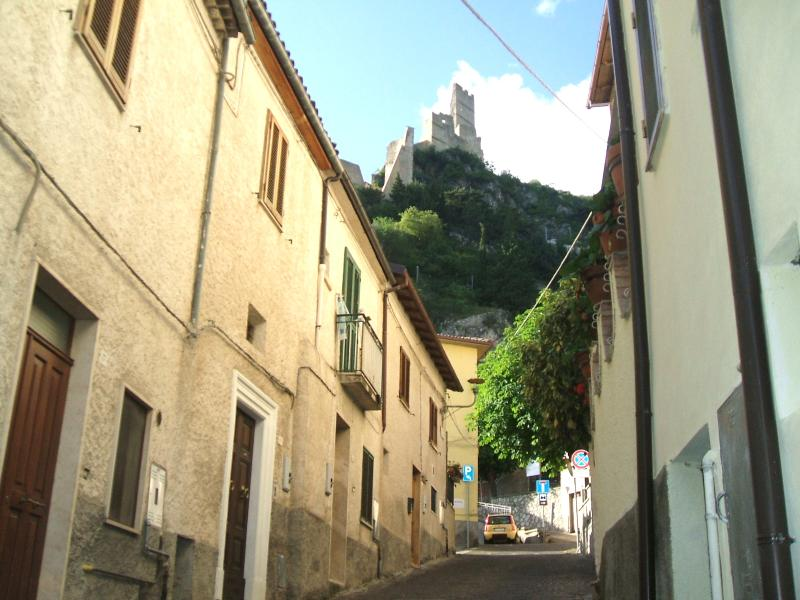 Main Street with view of the castle