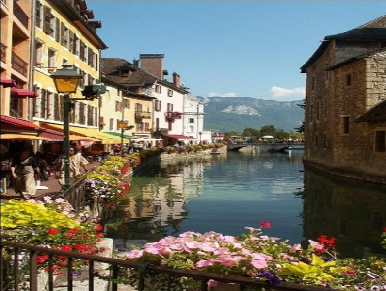 Annecy, just a short drive away