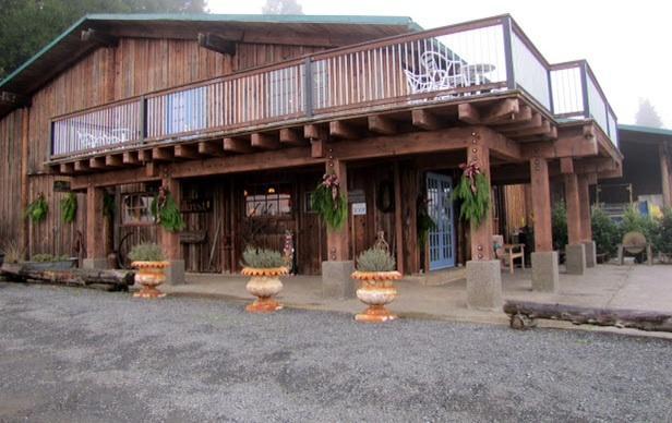 Närliggande Hillcrest Vinyard tasting room (äldsta vingård i Oregon)