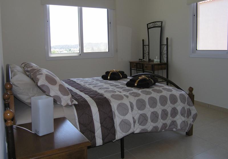 Bedroom 2 with open views.