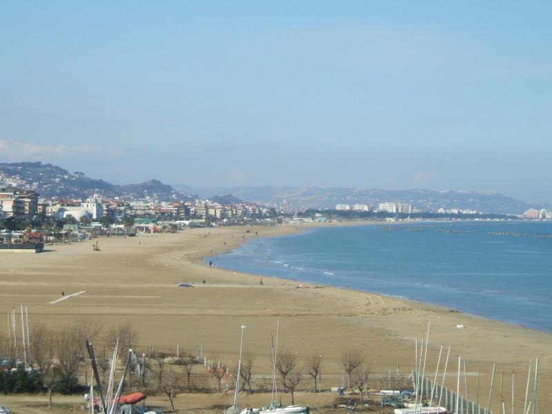 Beach at Pescara
