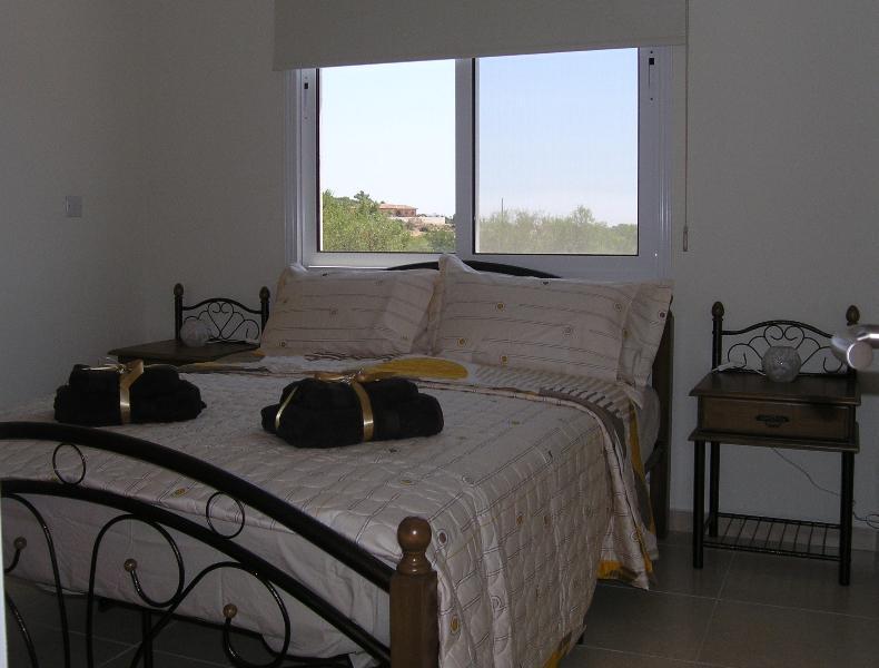 Bedroom 3 with open views.