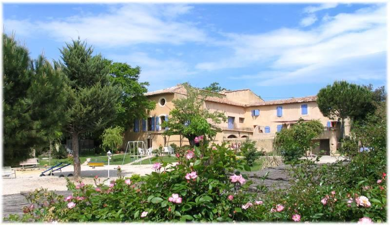 the bastide of the peyroliere in the luberon
