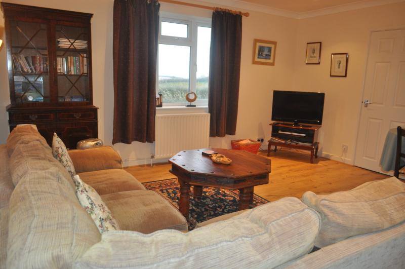 The lounge is very comfortable, with a corner sofa tv, dvd player - we have a large selection of dvd