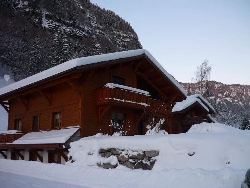 A picture postcard chalet in the spectacular valley of the slate mines