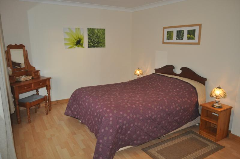 There is a large double bedroom and plenty of wardrobes and drawers provided