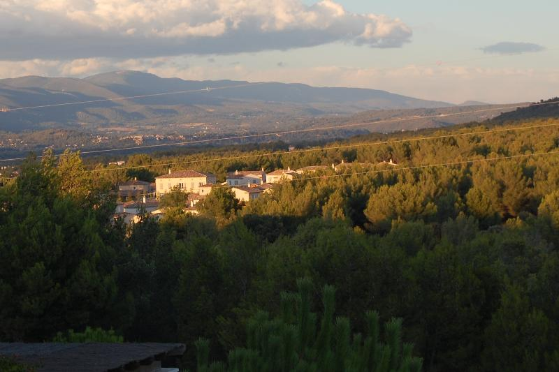 View from Upstairs Bedroom over the Luberon