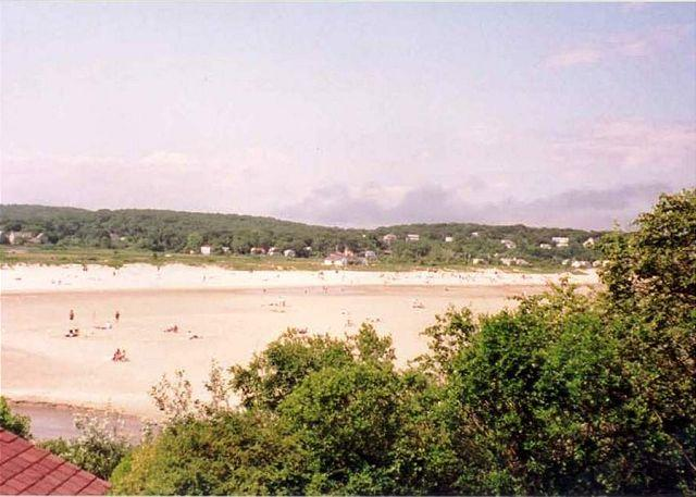 View of Good Harbor from the property.