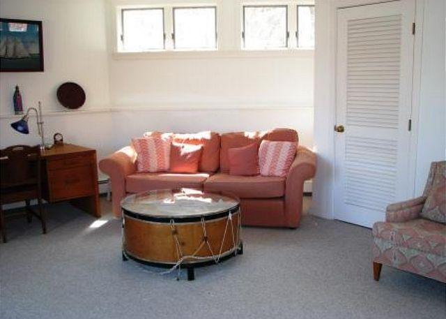Octagonal sitting room.