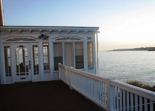 Sun porch and view from front deck.