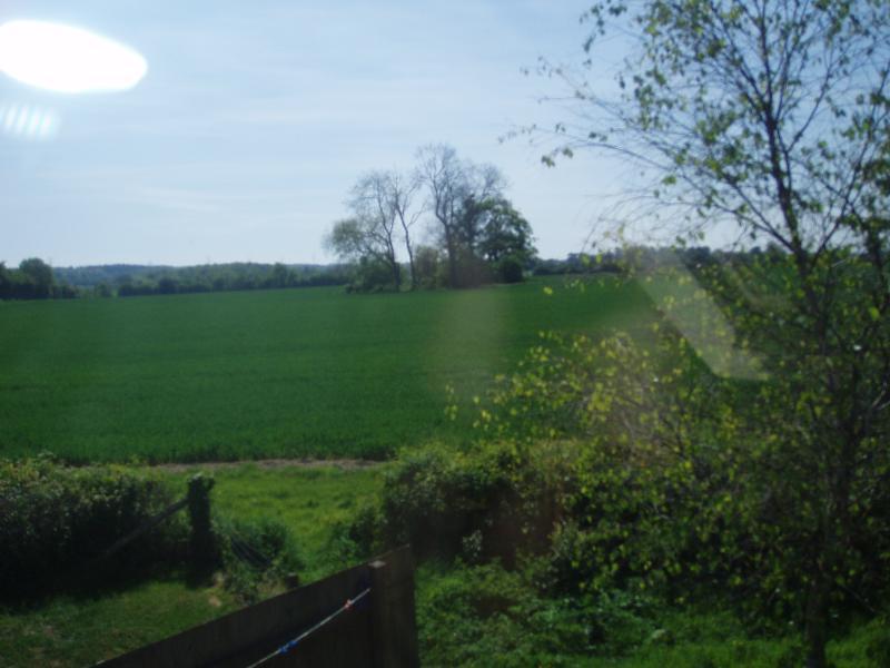 Vista da janela traseira
