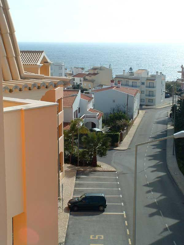 Looking down towards the beach!