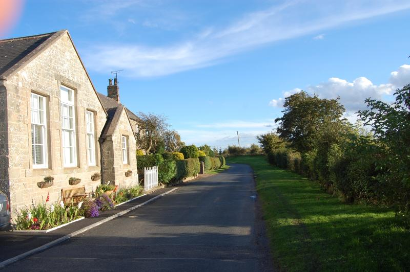 The Old School Lane. A Peaceful, Rural Setting Close to Local Beaches & Berwick Upon Tweed.