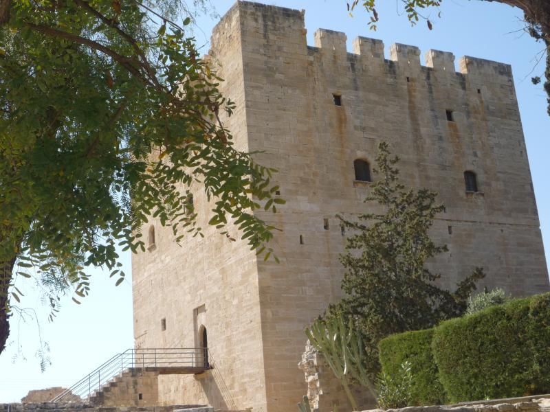 Nearby historic Kolossi Castle, Limassol