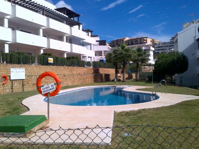 Rear Balcony of Property and main Pool