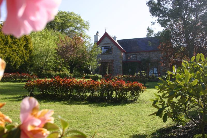 Rose garden and olde rectory