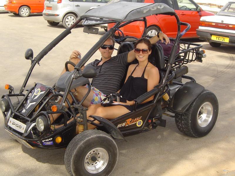 Enjoy Driving a Buggy