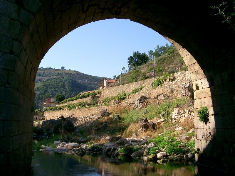 Roman arch bridge