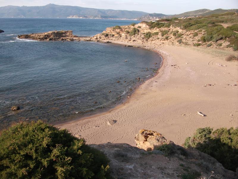 Torre Columbargia beach nearby