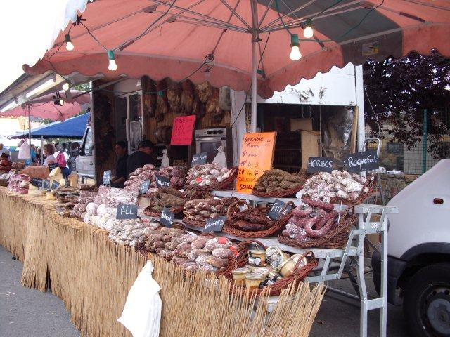 Typical French market