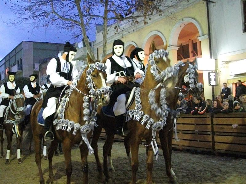 Festival de caballo Sa Sartiglia (fechas de 2016 son 7 - 9 Feb)