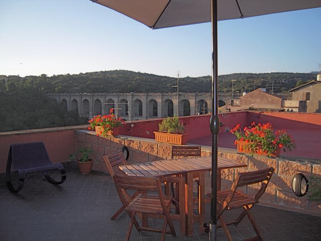 Vista dalla terrazza di Palazzo Primoli