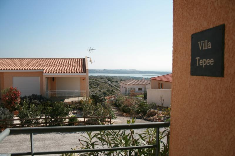 View from the front terrasse