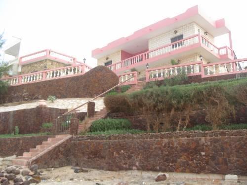 Villa vue de la plage