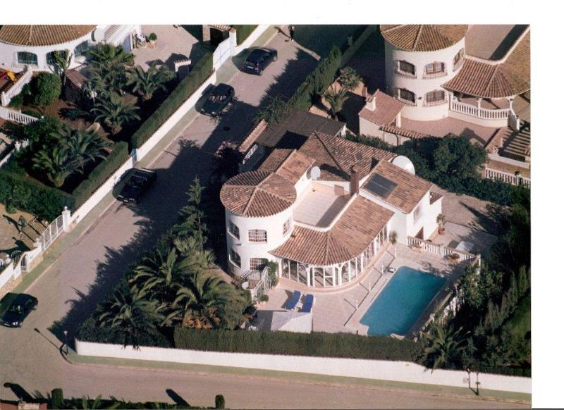 Villa from overhead