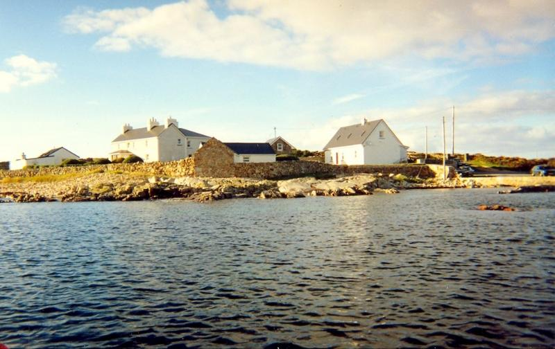 Bru Na Mara Complex from the Sea