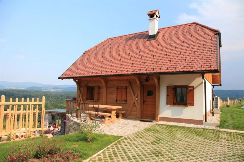 Vineyard cottage - Zidanica Ravbar, holiday rental in Straza