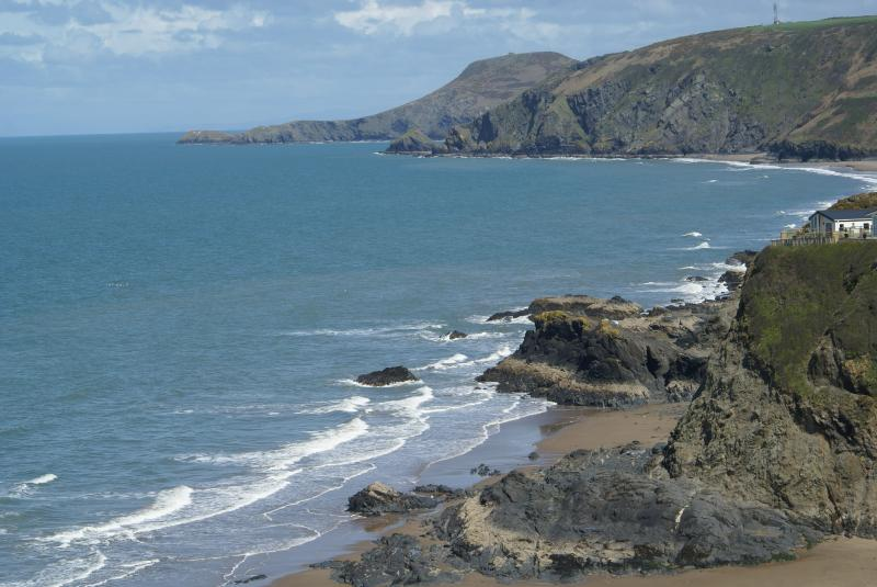 Part of Cardigan Bay taken by Helen McGreger