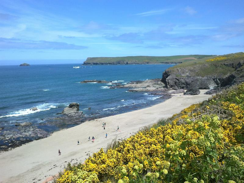 Greenaway Beach, between Polzeath & Daymer Bay - only 30mins drive